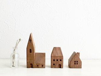 小さな木の家 ー教会50ーの画像