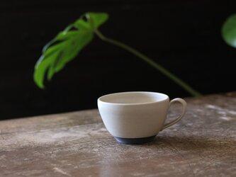 たっぷり入るスープカップ 白の画像