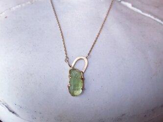 K10 Peridot necklaceの画像