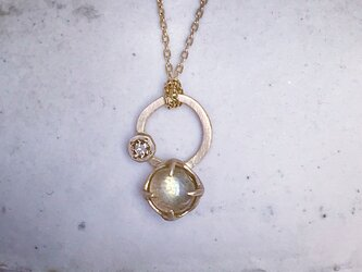 omika様分 K10 Labradorite necklaceの画像