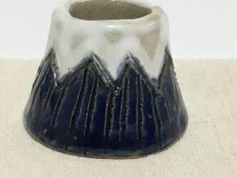 陶器製 富士山ペン立ての画像