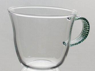 耐熱ティーカップ (CC-24GR カフェカップ グリーン)の画像