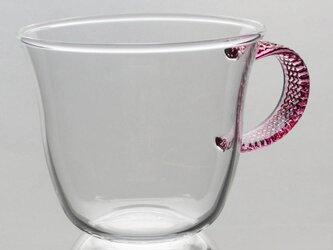 耐熱ティーカップ (CC-24PK カフェカップ ピンク)の画像