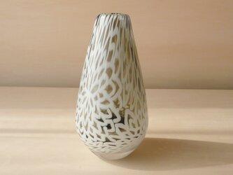 pattern vase 菊花の画像