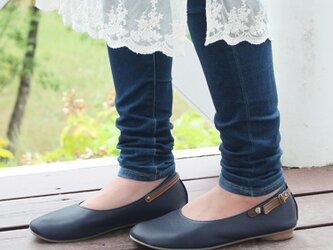 豊富なカラー!2wayバレエシューズ(0641) 靴 日本製 国産素材 オリジナルシューズ 【納期5~30日】の画像