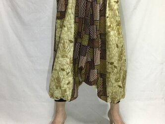 サルエルパンツ de 着物 風光るの画像