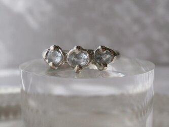 K様 ご注文品  アクアマリンのリングの画像