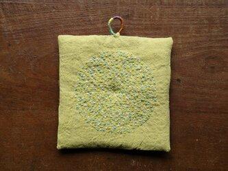 ばってん刺繍の鍋敷き 015の画像