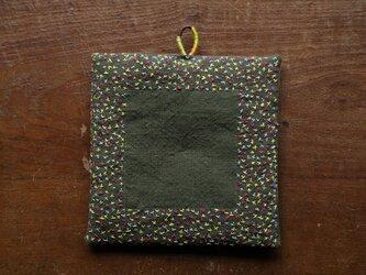 ばってん刺繍の鍋敷き 018の画像