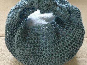 かぎ針編みのバッグの画像