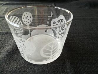 ガラスの小鉢 森への画像