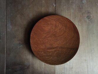 森の朝の丸皿 樫 (fmrk1)の画像