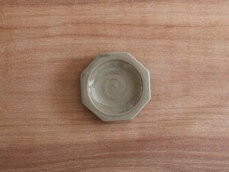 八角豆皿 グレージュの画像