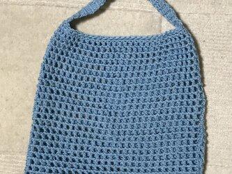 かぎ針編みのバッグ小の画像
