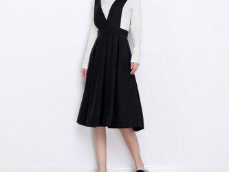 16色展開 ベルトリボン付きジャンパースカート☆オーダーメイド可<新作>の画像