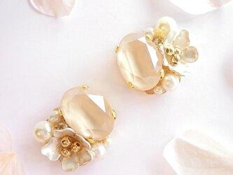 白桜のイヤリング/ピアスの画像