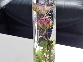 ハーバリウム 薔薇の画像