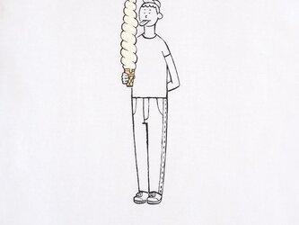 ロングソフトクリーム・男子【Tシャツ】の画像