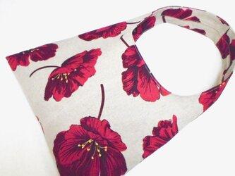 赤い花 さんかくショルダーの画像