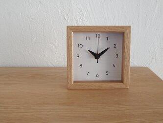 時計 Trape mini〈トラペミニ〉OK 卓上/壁掛兼用の画像