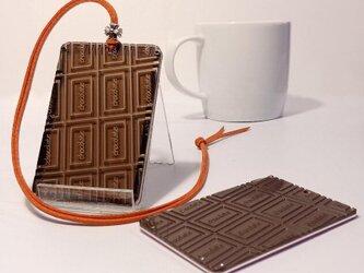 【板チョコパスケース】ICカードを守る / スイーツ好きさんへの画像