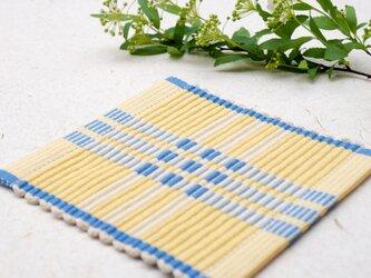 手織りコースター【C-Rep*01】の画像