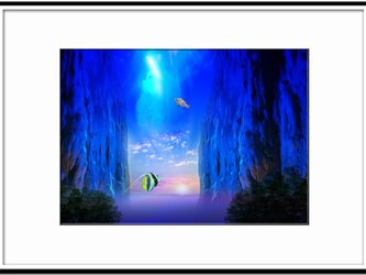 「新世界への旅立ち」 ほっこり癒しのイラストA4サイズポスターNo.627の画像
