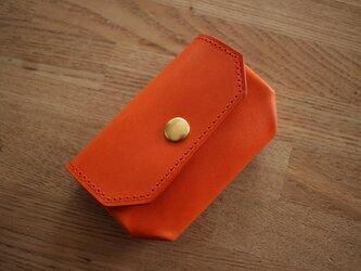 コインケース【Dobrar Coin Quarto】オレンジの画像