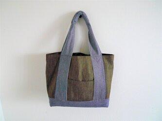 岡山児島デニムのトートバッグの画像
