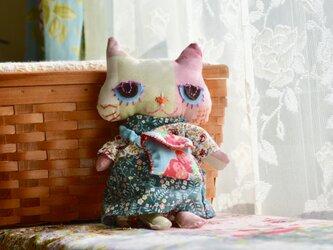 ねこ人形 るすばんこねこの画像