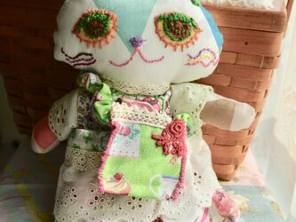 ねこ人形 カップケーキのねこの画像