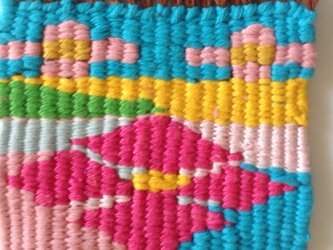 手織り☆コースタの画像