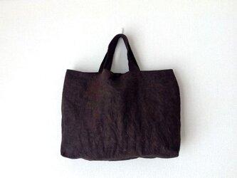 柿渋かばん - 柿渋染めのトートバッグの画像