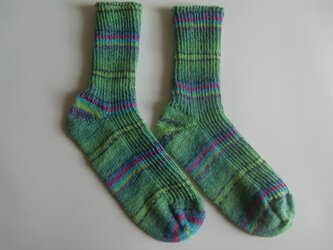 手編み靴下【シンフォニー  9614】の画像