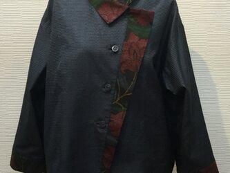 ジャケット(着物リメイク)(大島)の画像