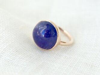K10[青紫のflower タンザナイト] ringの画像