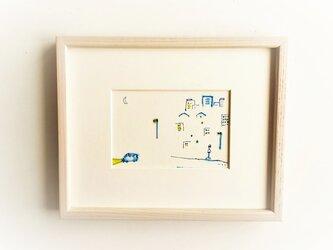 「みかづき」イラスト原画/額縁入りの画像