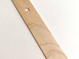 ヒノキの Book Marker *ほし*の画像