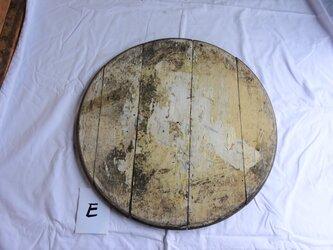 ウィスキー樽古材・鑑板 Eの画像