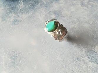 【一点物】Butterfly & Turquoise Ringの画像