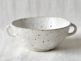 耳付きスープカップの画像