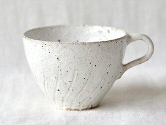 白いコーヒーカップの画像