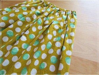 yellow* しゃぼんだま ギャザースカートの画像