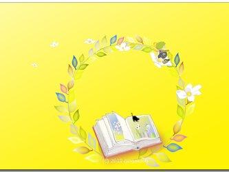 「春を散歩しよ^^」 ほっこり癒しのイラストポストカード2枚組No.718の画像