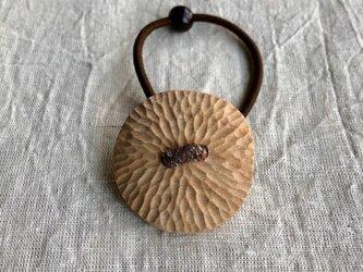 にっきの木のヘアゴム(gom-16)まんまるの画像