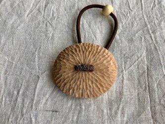 にっきの木のヘアゴム(gom-17)楕円の画像