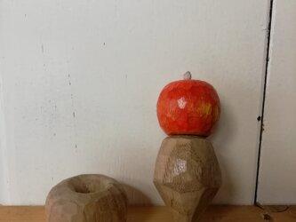 リンゴこけしの画像