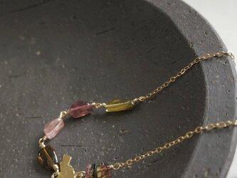 tourmaline*braceletの画像
