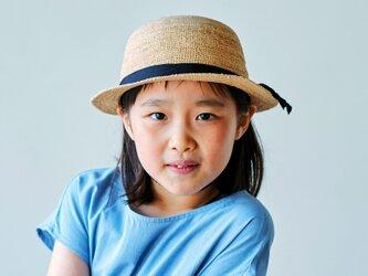Sunny サニー ラフィア 子供用帽子 52cm [UK-H011-SU-52]の画像