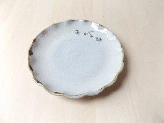 ことり 輪花小皿の画像